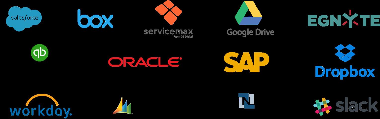 Dozens of GoFormz integration partners